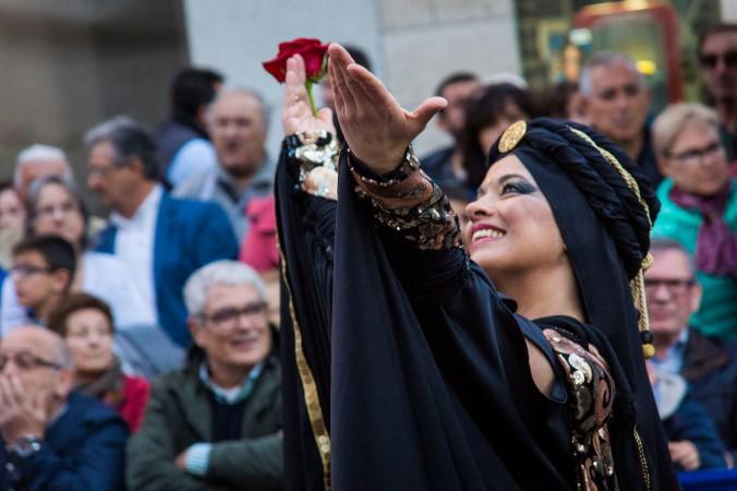 Almansa 2016, moros y cristianos